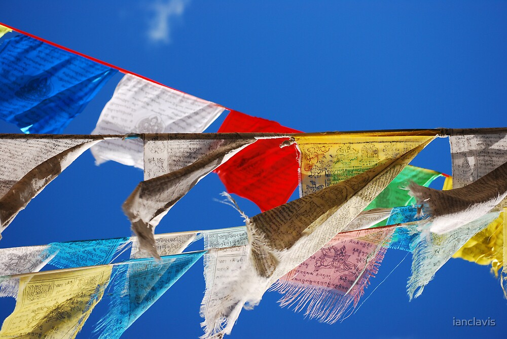 Pray Flags Zhongdian by ianclavis