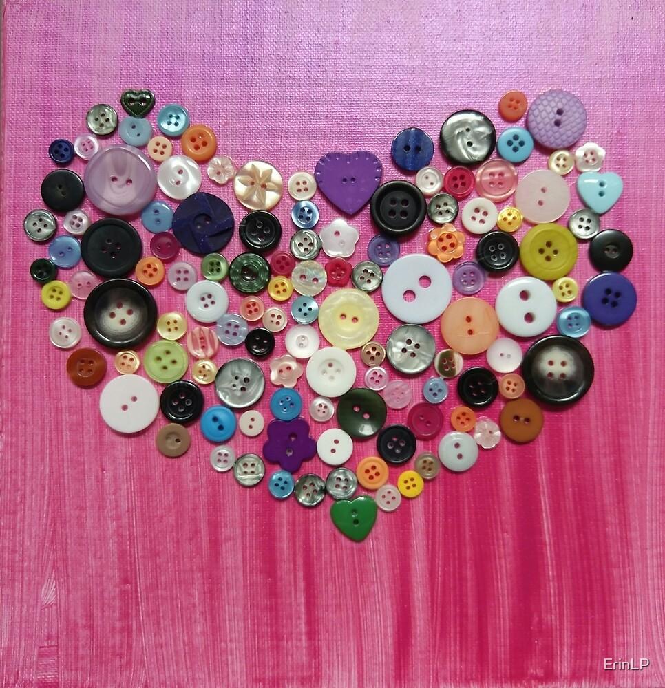 Love buttons by ErinLP
