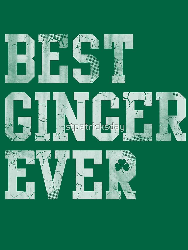 Best Ginger Ever by stpatricksday