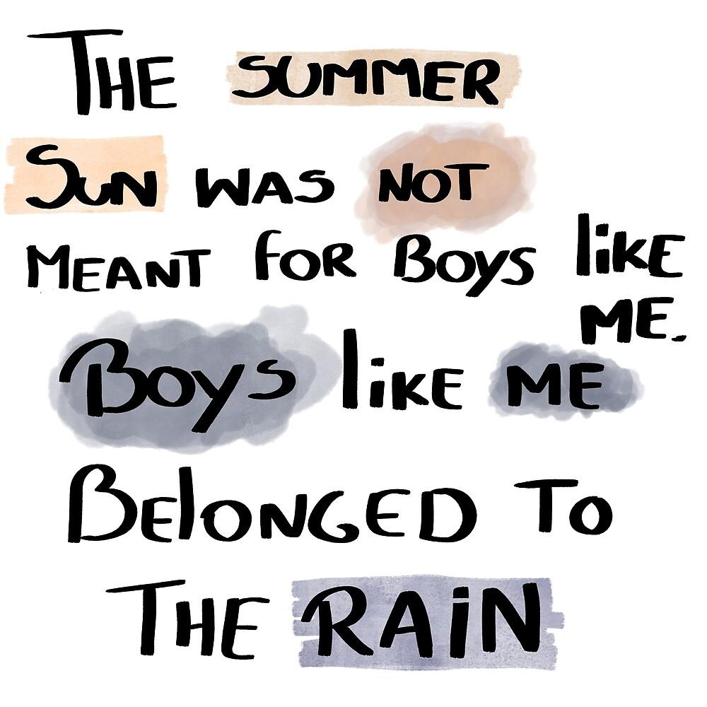 Rain boys by NathanFB