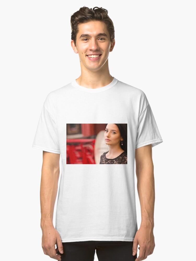 Woman fashion Classic T-Shirt Front