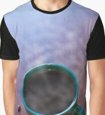 Morning Hot Coffee Graphic T-Shirt