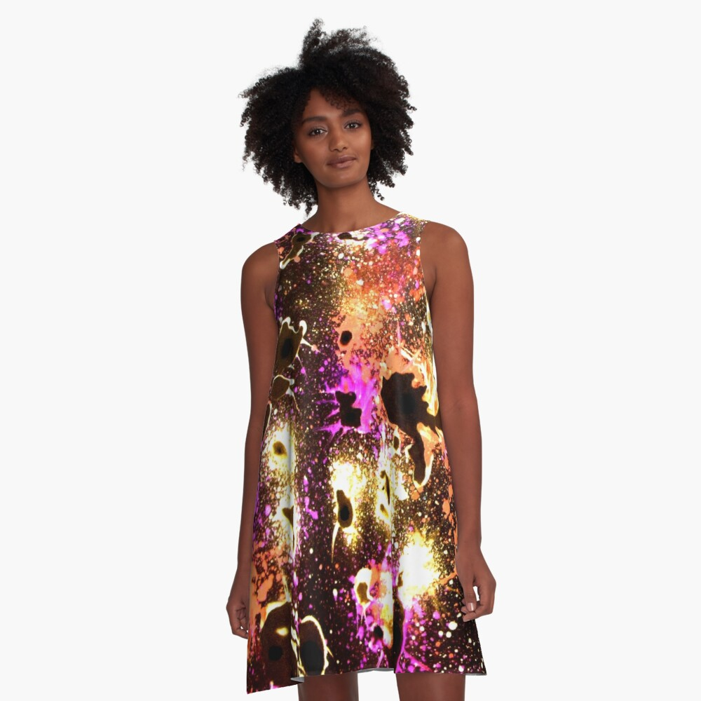 All that Jazz - Abstract  A-Line Dress
