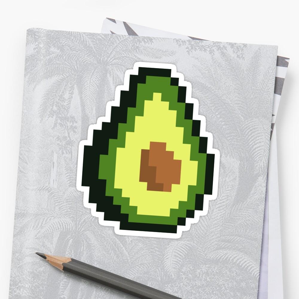 Avocado - Pixelated by lurchmerch