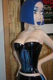 statue of blue 4 by Tittylatte