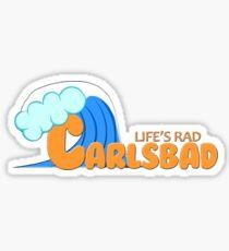 Carlsbad Geotag Sticker