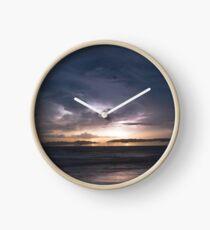 Cable Beach Lightning  Clock