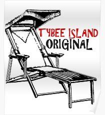Tybee Island Georgia Original  Poster