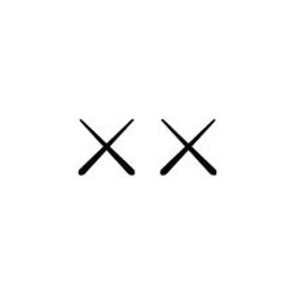 Kaws double x logo LARGE by rcaresell