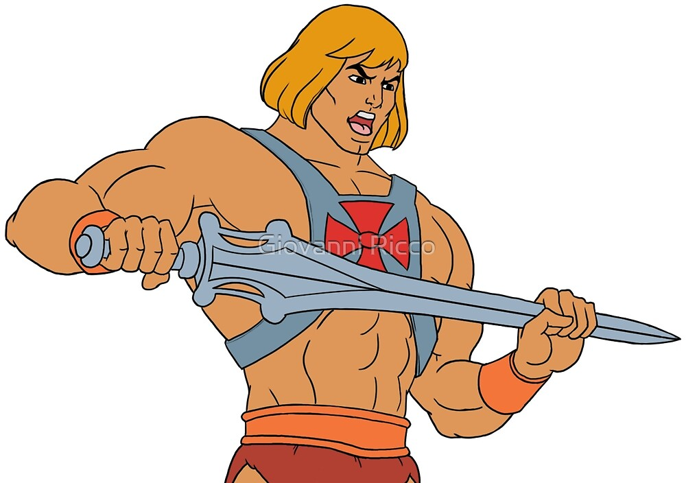 He-man Filmation style by Giovanni Ricco