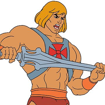 He-man Filmation style by Altairicco