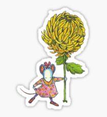 Chrysantheme Sticker