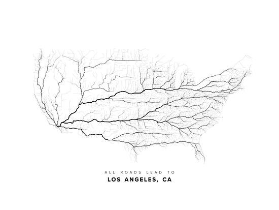 All Roads Lead to Los Angeles by LaarcoStudio