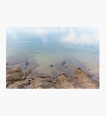Perfect Droplet Ripple Photographic Print