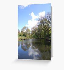 spring pond Greeting Card