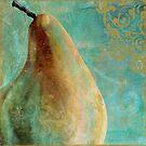 Aqua Fruit Pear by mindydidit