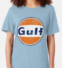 Gulf Racing Retro Slim Fit T-Shirt