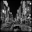 Lost in the City - B+W by sparrowhawk
