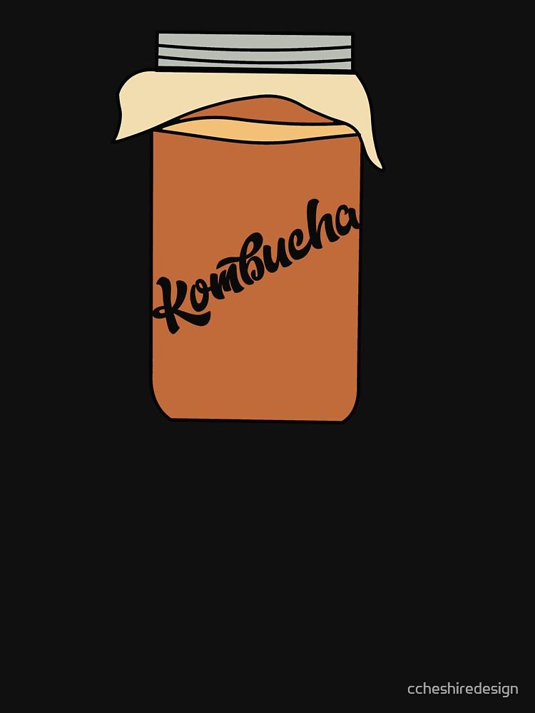 Kombucha Booch Tea Drink by ccheshiredesign