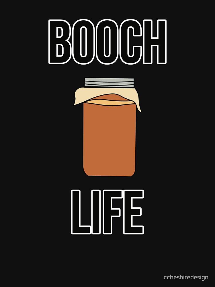 Booch Life Kombucha Tea Drink by ccheshiredesign