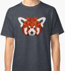 Geometric Red Panda Head  Classic T-Shirt