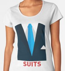 Harvey Specter - Suits Women's Premium T-Shirt