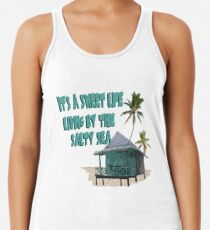 Süßes Strandleben Tanktop für Frauen