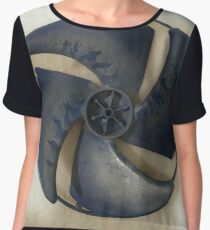 Technopunk Steempunk Chiffon Top