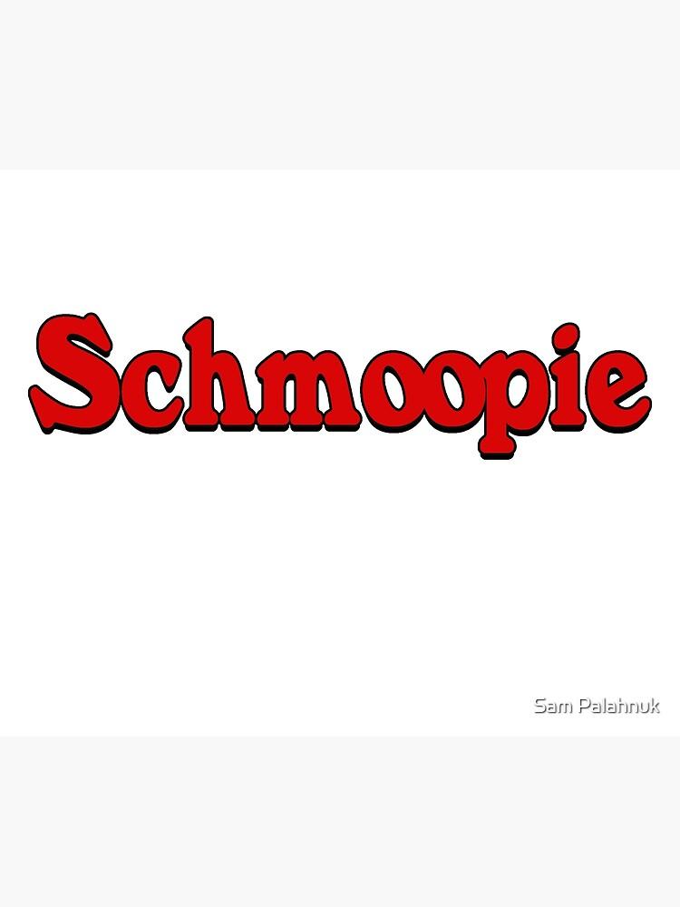 Schmoopie sticker  by sampalahnukart