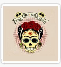 Frida Kahlo Skull Sticker