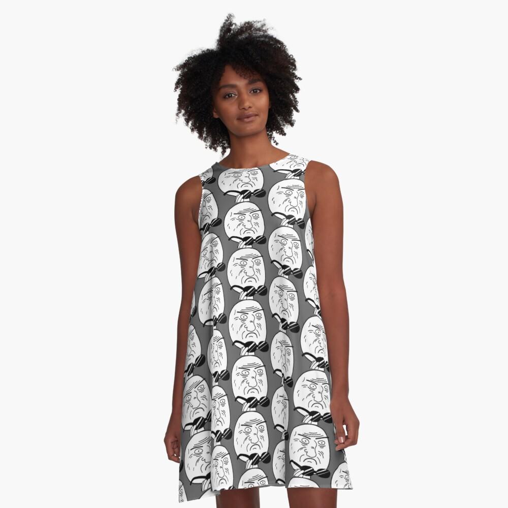 Mother Of God Meme A-Line Dress