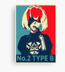 2B Nier H o p e Poster Canvas Print