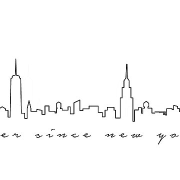 ever since new york by champagnenoir