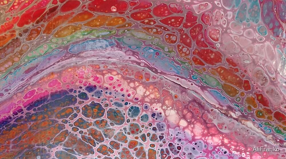 Bubble Rainbow Lollipop  by AliFranko