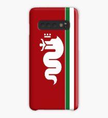 Alfa Romeo Biscione Hülle & Klebefolie für Samsung Galaxy