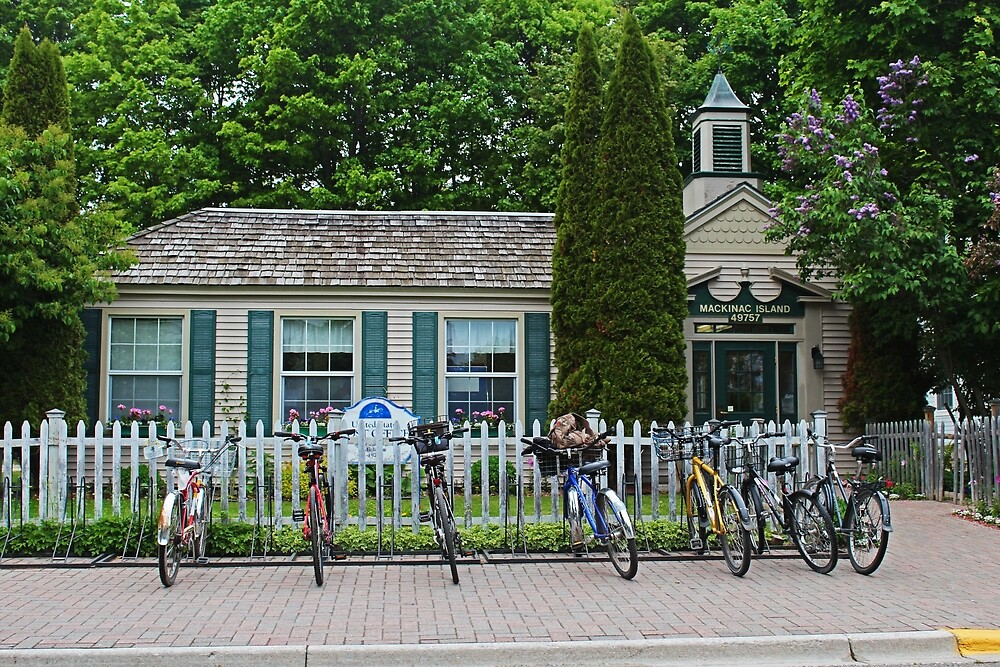Mackinac Island Post Office by Michiale