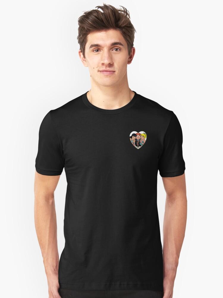 Riverdale Merch ® Archie Vintage Comics - Archie, Betty and Veronica Unisex T-Shirt Front
