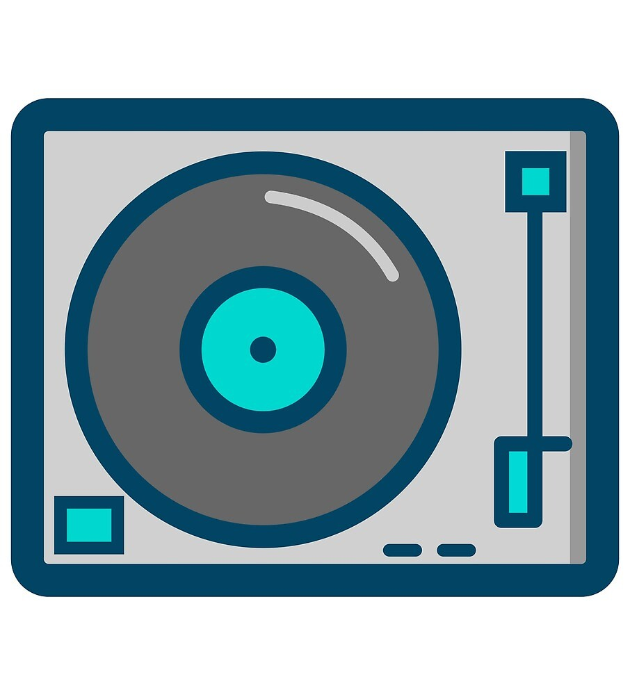 DJ Turntable by Reethes