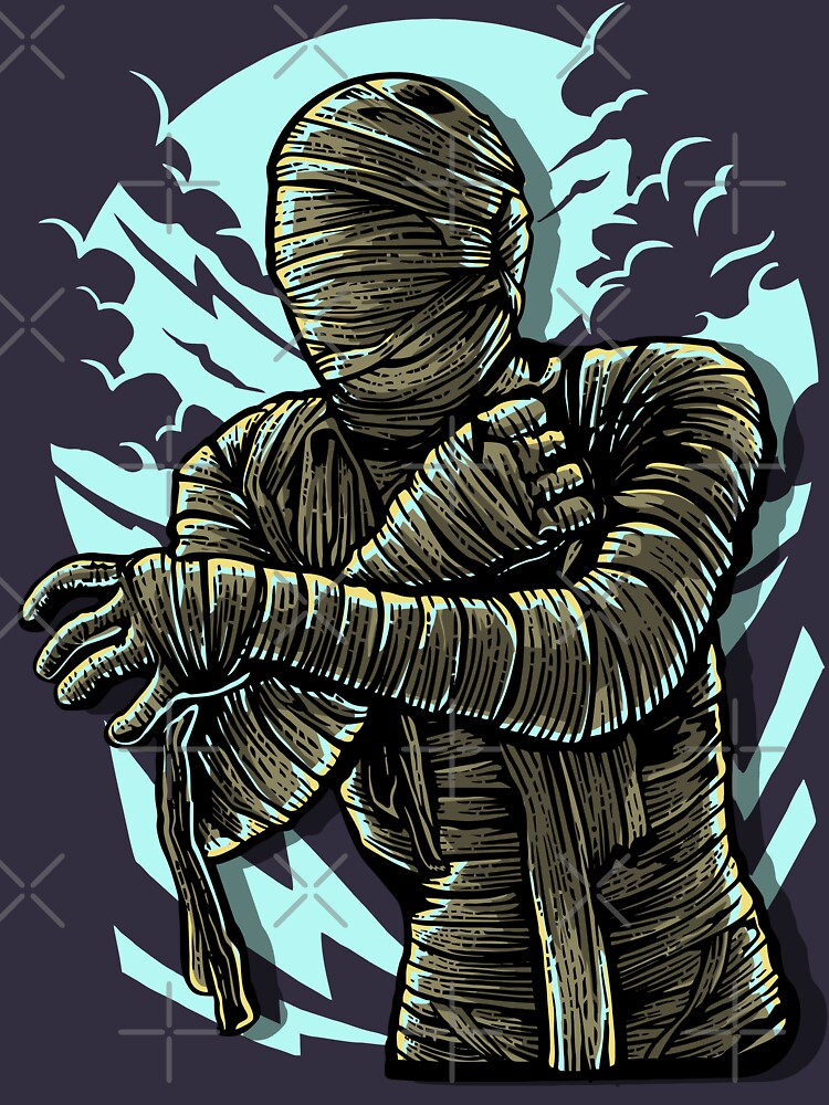 The Mummy In Bandage Trouble by Skullz23