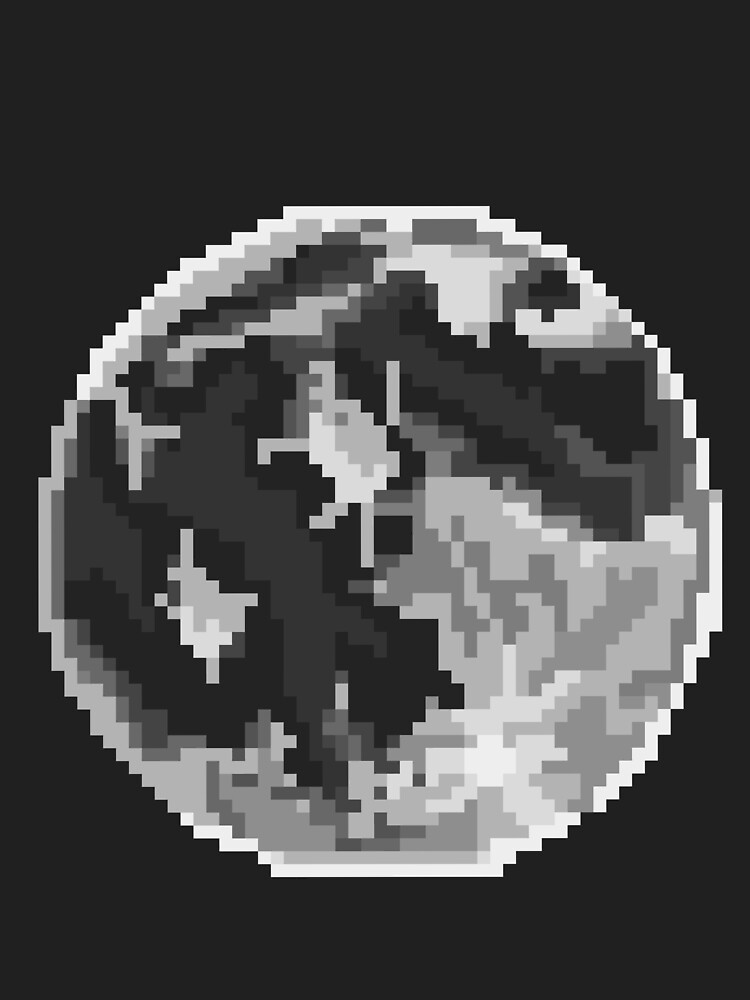 Pixel Moon by OnCloud99