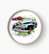 Classic Cars Clock