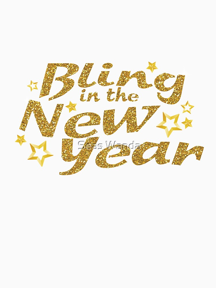 Bling in the New Year Eve Party 2018 New Years by macshoptee