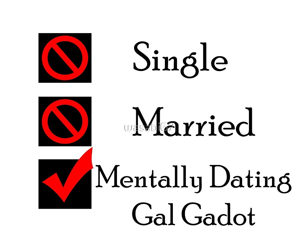 Mentally Dating Gal Gadot by wasabi67