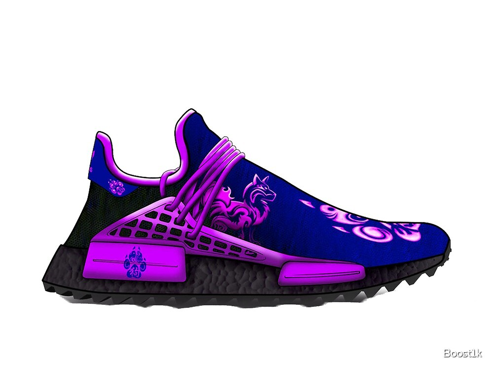Custom Chinese New Years NMD by Boost1k