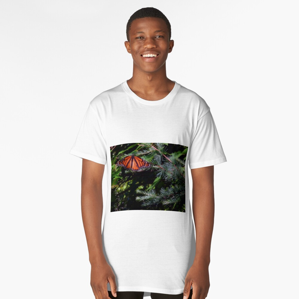 Monarch In The Pines Long T-Shirt Front