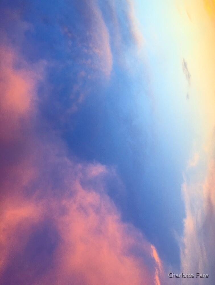 Rainbow Sunset by Charlotte Fare