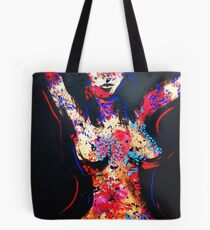 Tattoo Woman Tote Bag
