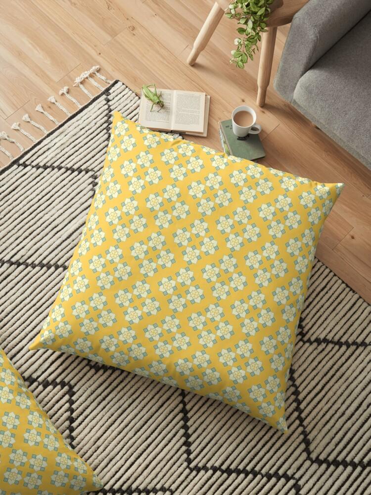 Yellow Pattern by Dani Rojas