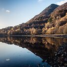 Autumn Reflections at Loch Leven by Mark Greenwood