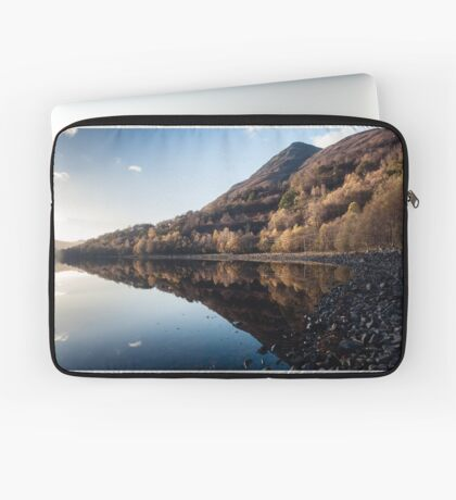 Autumn Reflections at Loch Leven Laptop Sleeve